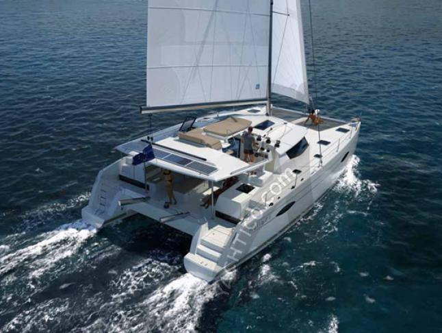 Charter Catamaran Helia 44 in Red Hook - Caribbean