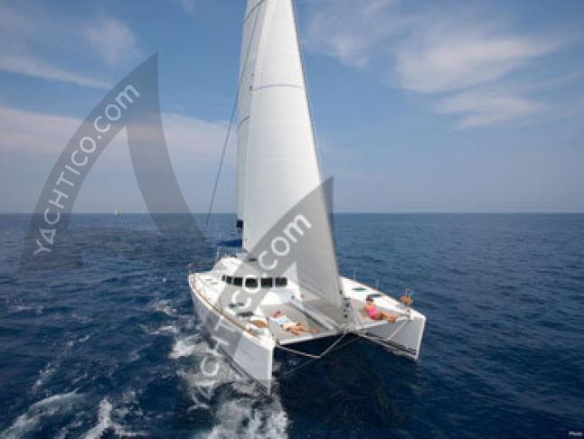 Kat Lagoon 410 S2 in Marina Royale chartern