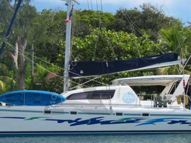 Catamaran Leopard 47 available for charter in Rock Sound City