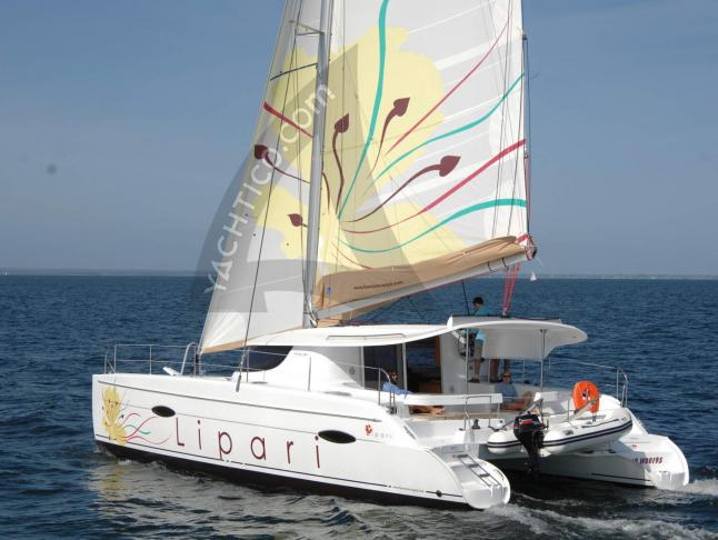 Catamaran Lipari 41 for rent in Le Marin