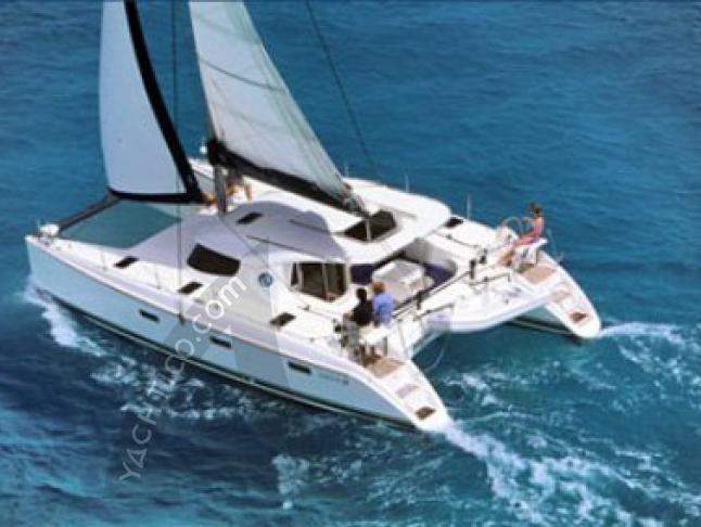 Cat Nautitech 40 for charter in Marina Royale