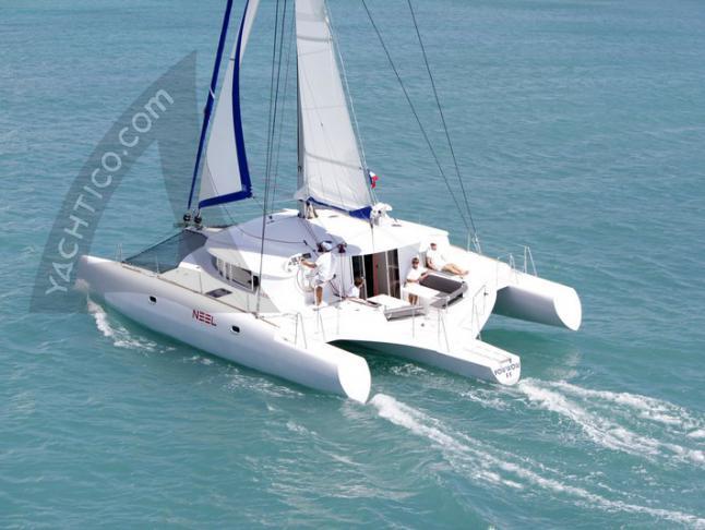 Katamaran NEEL 45 in Le Marin chartern