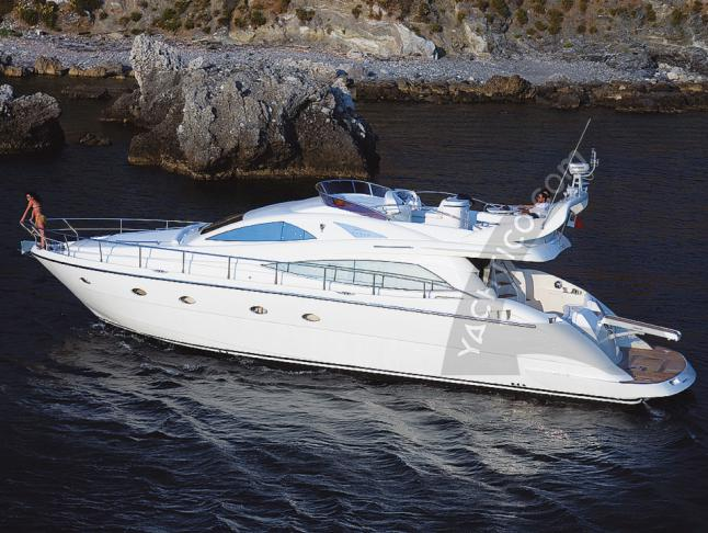 Motoryacht Aicon 56 Fly Yachtcharter in Palermo
