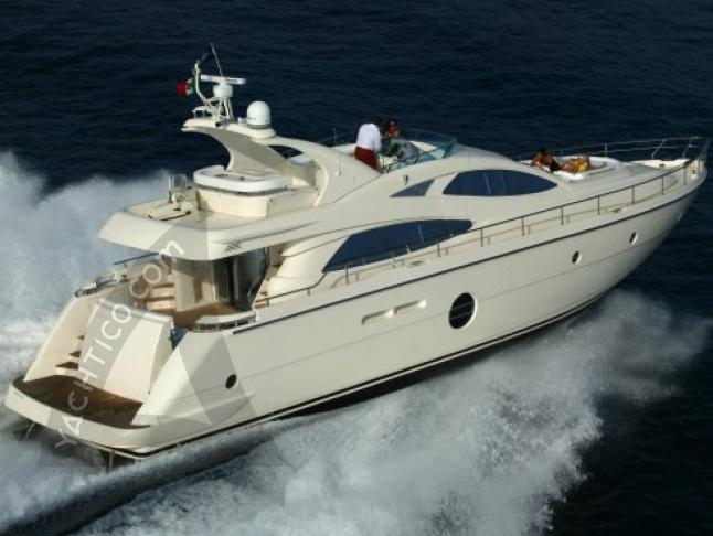 Aicon 64 Fly Motoryacht Charter Palermo