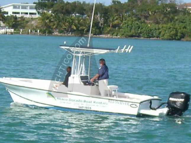 Motor boat Dusky 22 available for charter in Marsh Harbour City