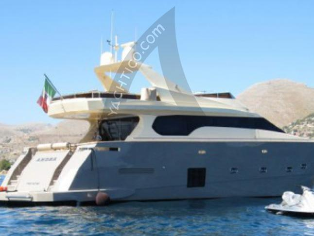 Yacht with 4 cabins for rent in Palermo