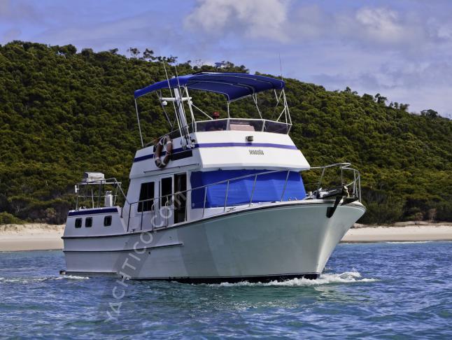 Motoryacht Sundecker 36 Cruiser Yachtcharter in Airlie Beach