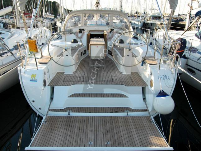 Segelyacht Bavaria 45 Cruiser Yachtcharter in Marina di Portisco