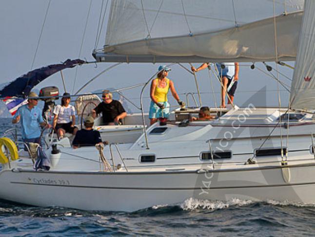 Yacht Cyclades 39.3 - Sailboat Charter Phuket