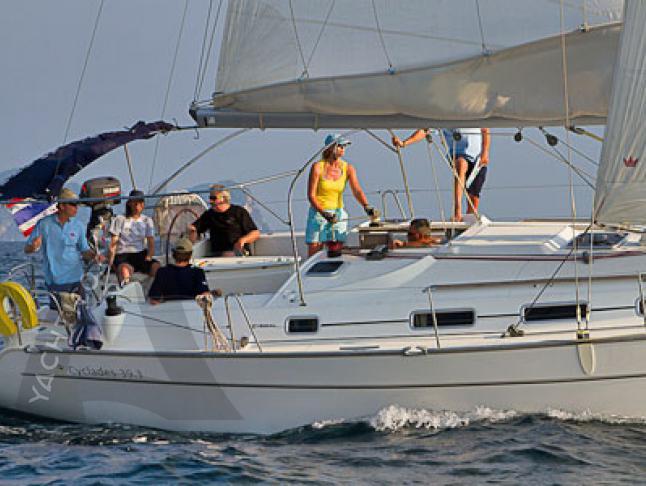 Cyclades 39.3 Segelyacht Charter Phuket