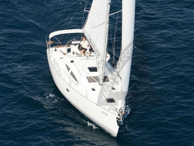 Elan 384 Impression Segelyacht Charter Kröslin