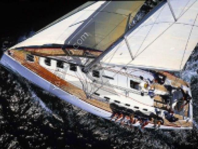 First 47.7 Segelyacht Charter Castiglione della Pescaia