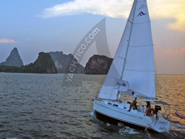 Hanse 315 Sailboat Charters Thailand