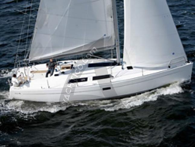 Hanse 400 Segelyacht Charter Rostock