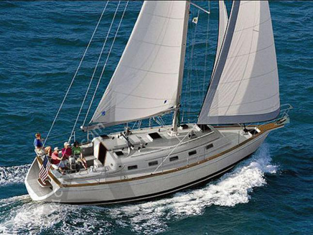 Island Packet 370 Segelyacht Charter Red Hook