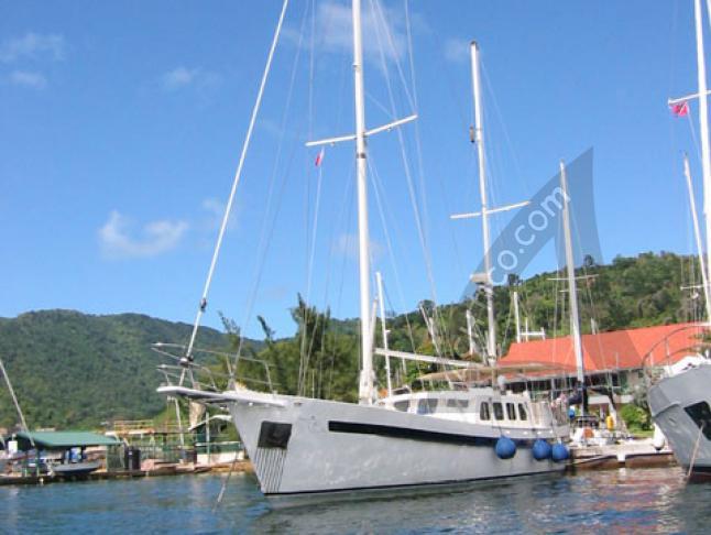 Luebbe Voss Ketch 64ft Segelyacht Charter Saint Georges