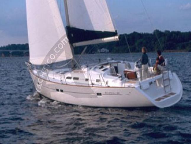 Oceanis 42.3 Segelboot Charter Neapel