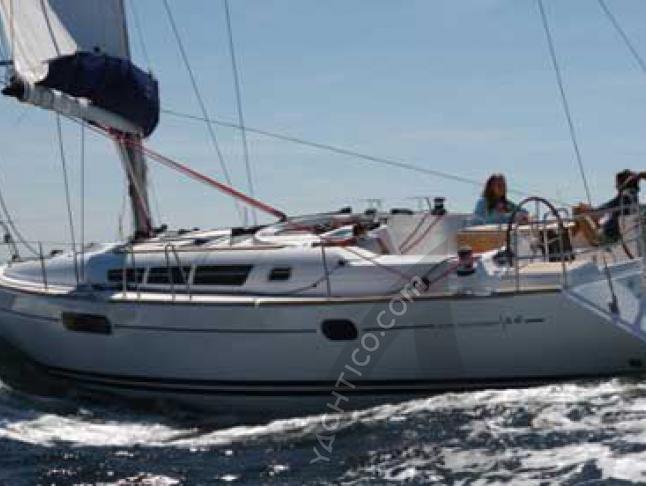 Sun Odyssey 44i Segelyacht Charter Tropea