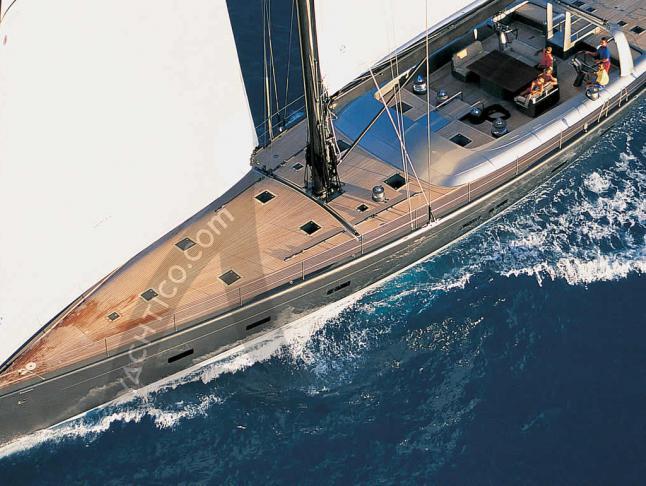 Wally 106 Segelyacht Charter Macinaggio