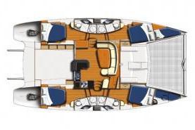 Katamaran Leopard 46 - Yachtcharter in Uturoa-93850-0-0