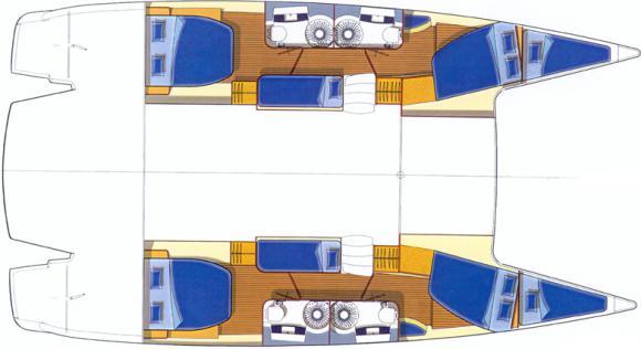 Catamaran Salina 48 for hire in Kastela-67797-0