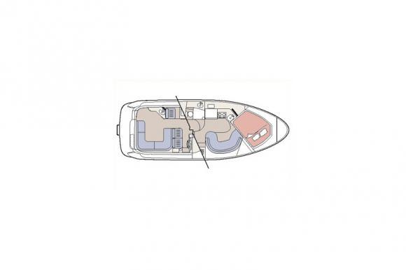 Bayliner 3055 Motorboot Charter Kroatien-29895-1