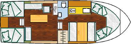 Motoryacht Burmester in Marina Segel Club Seddin leihen-29583-0