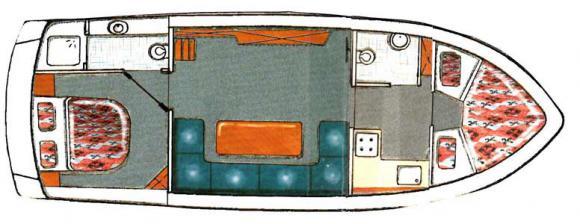 Motoryacht Gruno 35 Compact Sport in Marina Bootscenter Keser chartern-29593-4