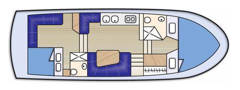 Motorboot Sundecker 36 Cruiser Yachtcharter in Marina Abel Point-32022-0