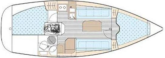 Yacht Bavaria 30 Cruiser in Greifswald leihen-30664-0