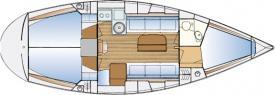 Segelboot Bavaria 34 in Marina Punat chartern-29417-0