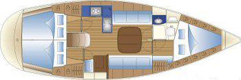 Yacht Bavaria 36 Cruiser in Lemmer chartern-31449-0