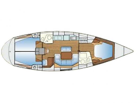 Yacht Bavaria 42 Yachtcharter in Marina Lefkas-30894-0