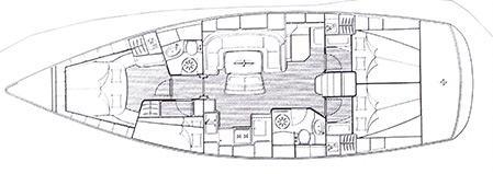 Bavaria 46 Cruiser Segelboot Charter Rostock-31422-0