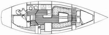Segelyacht Breehorn 37 in Marina Lelystad leihen-30594-0