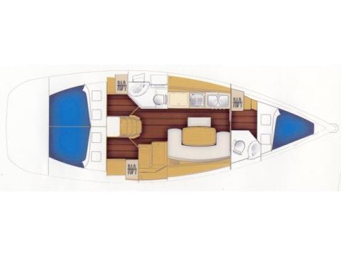 Cyclades 39.3 Segelyacht Charter Trapani-71245-0