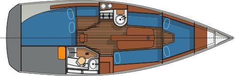 Segelboot Delphia 28 Sport in Marina Bjoerlanda Kile ausleihen-29904-0