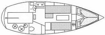 Segelyacht Duetta 86 LS in Uitdam chartern-31088-0