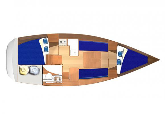 Yacht Dufour 325 Grand Large Yachtcharter in Pula-71226-0