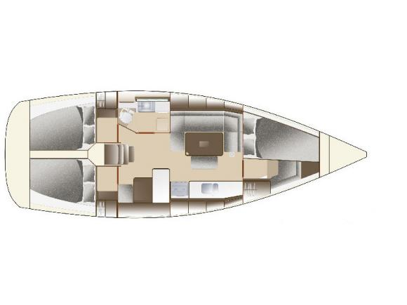 Segelyacht Dufour 375 Grand Large chartern in Betina-71663-0