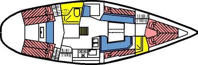 Yacht Elan 431 in Flensburg chartern-30435-0
