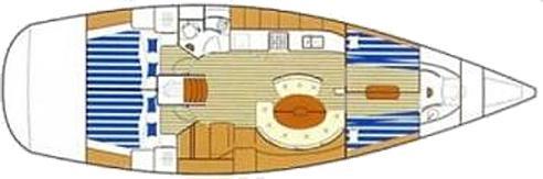 Segelyacht First 47.7 in Sukosan Bibinje mieten-30522-0