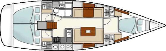 Segelboot Hanse 400 in Rostocker Stadthafen ausleihen-29791-0