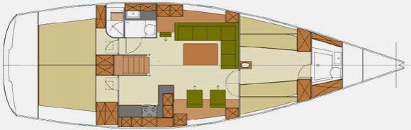 Segelyacht Hanse 470 in Procida ausleihen-30007-0