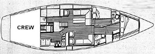 Yacht Irwin 52 in Road Town ausleihen-30528-0