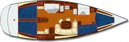 Segelboot Salona 45 in Yachthafen Burgtiefe Fehmarn chartern-29123-0