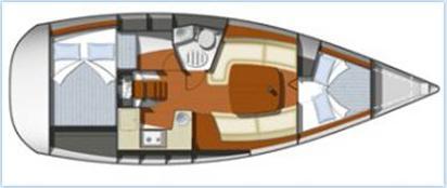 Yacht Sun Odyssey 32i in Pula chartern-71183-0