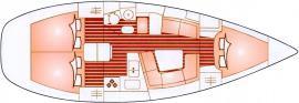 Segelboot Sun Odyssey 37 in Marina Porto di Mergellina leihen-29203-0