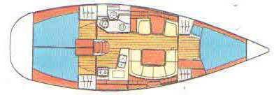 Segelboot Sun Odyssey 40 in Bodrum Marina Milta mieten-35153-0