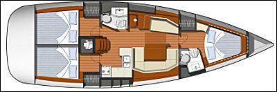 Segelboot Sun Odyssey 42i Yachtcharter in Puntone-28600-0